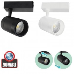 Spot LED Magazin Sina 7W ZOOMABLE